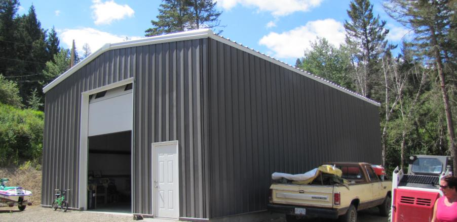 Storage Buildings | Fidelity Steel Buildings
